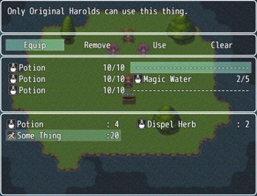 MV Actor Equip Items | Galv's RPG Maker Scripts & Plugins