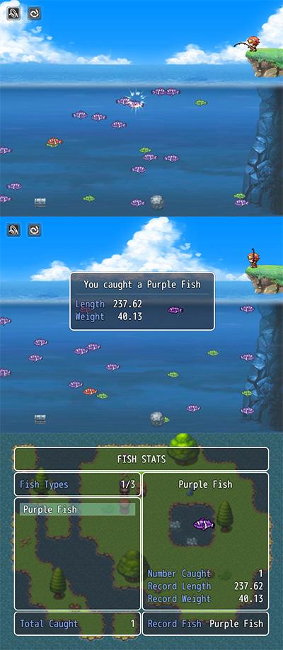 Fishing Mini Game