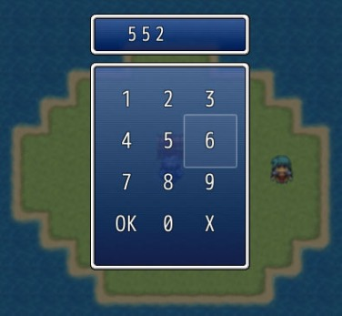 Keypad Input | Galv's RPG Maker Scripts & Plugins