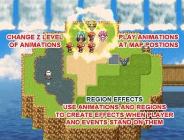 MV Map Animation Effects | Galv's RPG Maker Scripts & Plugins