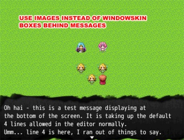 MV Message Background | Galv's RPG Maker Scripts & Plugins