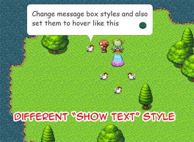 MV Message Styles | Galv's RPG Maker Scripts & Plugins